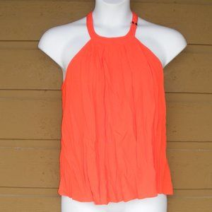 LULU'S Top, M, Orange, Tank/Halter, Keyhole back
